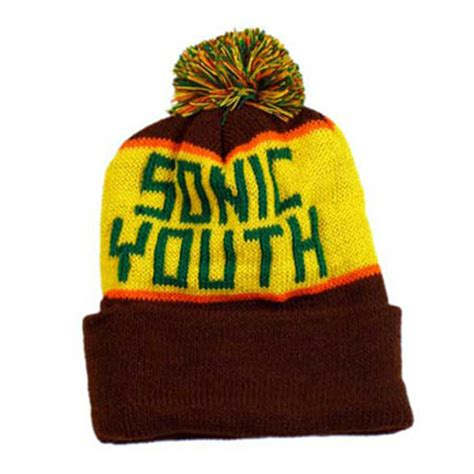 custom knit hat sonic youth custom knit hat beanie buy sonic youth
