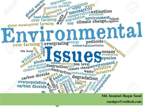 On Environmental Issues global environmental issues