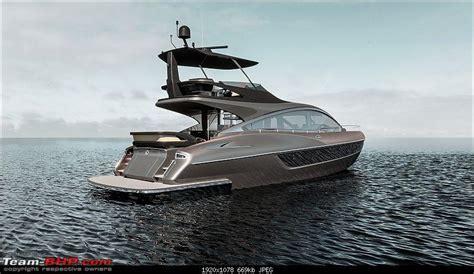 lexus boat price lexus unveils ly 650 luxury yacht team bhp