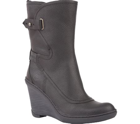 womens timberland stratham heights mid wedge boot free