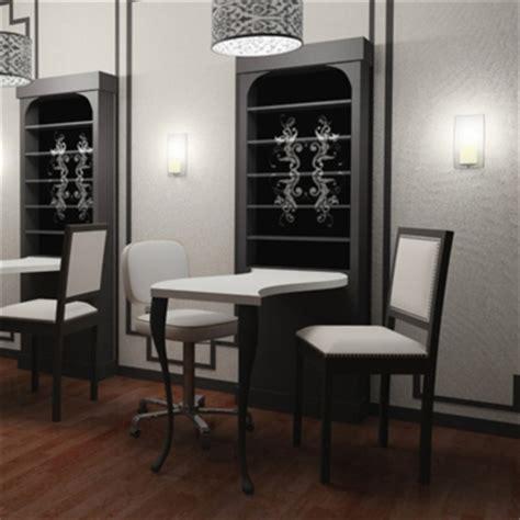 Nail Bar Table And Chairs Nail Bar Table Station Manicure Station Table Nail Bar Desk 163 244 89 Picclick Uk 163 175 99