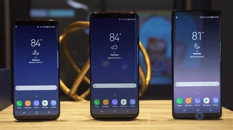 Samsung S8 Plus Vs Note 8 samsung galaxy note 8 on