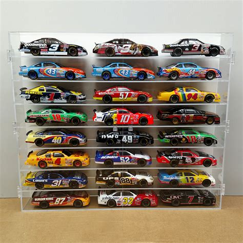 Display Acrylic Hotwheels Isi 50 nascar wheels protective display cases bullseye plastics cottage grove minnesota