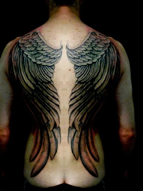 Angel Wings Tattoo Designs On Back Images Of Tattoo Idea Wings On Back Tattoos 2