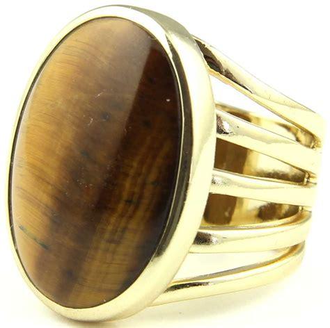 Dijamin Tiger Eye Ring 15 5 isharya center ring tiger eye at i