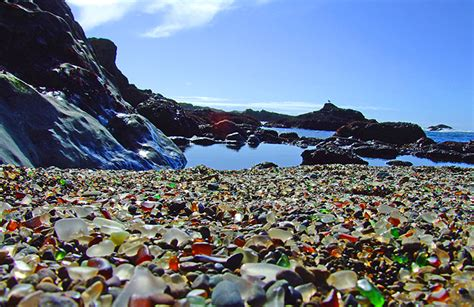 beach of glass dreams happy things glass beach