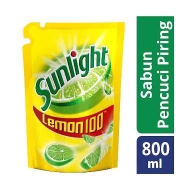 Sabun Cuci Piring Kwalitas Premium jual sunlight sabun cuci piring lemon refill 800 ml harga kualitas terjamin