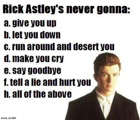 Know Your Meme Rick Roll - how to succesfully rick roll