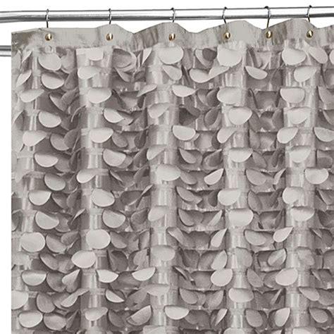Gigi 72 Inch X 72 Inch Shower Curtain In Grey Bed Bath