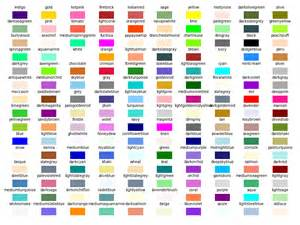 colors and their names sprint single letter colors different than name