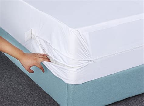utopia bedding premium zippered waterproof mattress encasement bed bug proof mattress cover