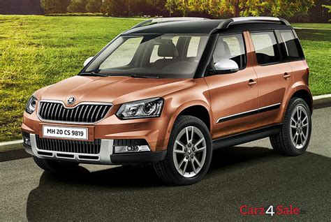 skoda yeti elegance 4x4 specifications features colours