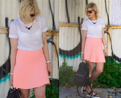 Zara Club liat neuman club monaco shirt zara skirt aldo sandals tel aviv lookbook