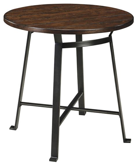 Dining Counter Table Signature Design Challiman D307 13 Industrial Style Dining Room Counter Table