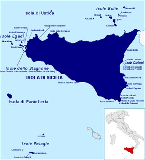 Topi Southern Cap list of islands of italy