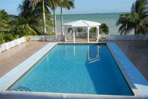 spacious 4 bedroom beachfront home for sale corozal