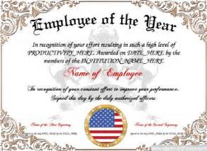 Employee Of The Year Certificate Template Free by 23 Best Award Certificate Templates Images On