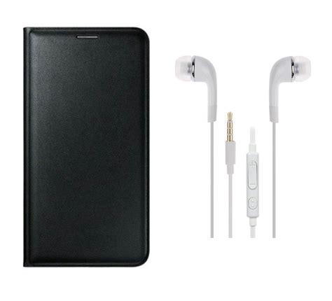 Leather Flip Vivo Y15 vivo y15l 3 5 mm premium earphones and flip cover