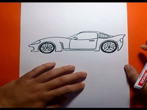 como aser un carro facil de aser coche como dibujar un coche paso a paso how to draw a car