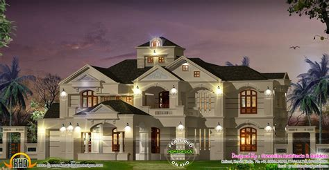 kerala home design colonial 5 bedroom colonial style luxury villa kerala home design