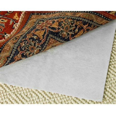 walmart rug pad safavieh carpet to carpet area rug pad walmart