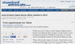 Stamford Office Space Market More Upbeat In 2014   Connecticut Business Centers