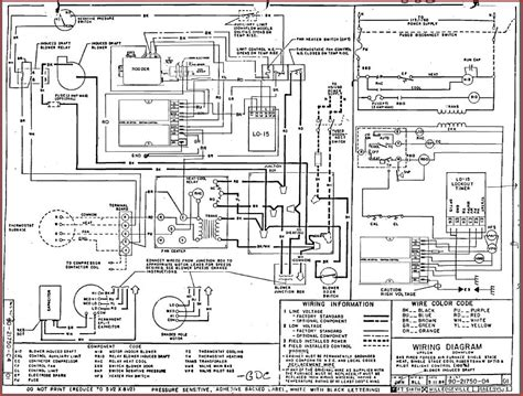 wiring schematics hvacinformation org hvac diagrams