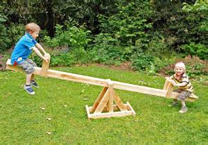Wooden see saw atje110 liberty games