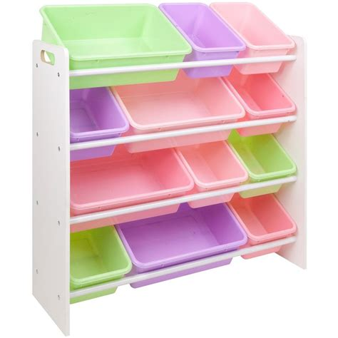 kids toy organizer in toy storage