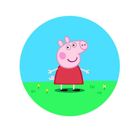 How To Make A Pop Up Valentines Card - characters peppa pig