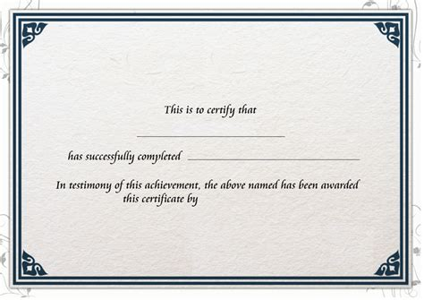 this certificate entitles you to template sponsorship form