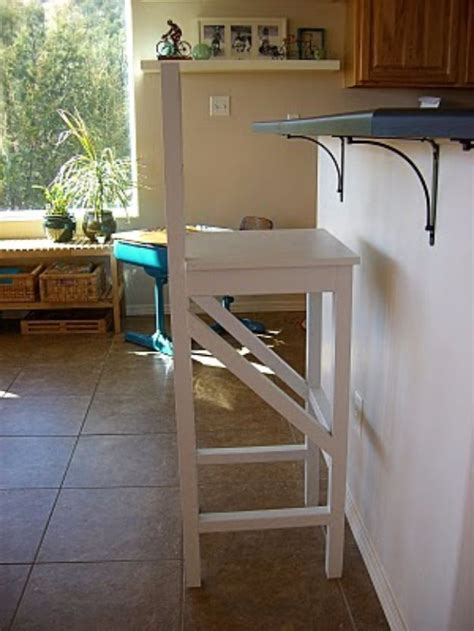 Diy Metal Bar Stool by 31 Diy Barstools You Need To Make For Your Home