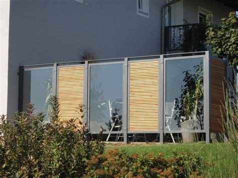 terrassen sichtschutz glas terrassen sichtschutz glas xu12 hitoiro