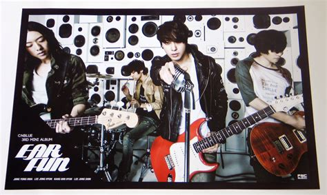 Cnblue Blue Moon Sign Poster cnblue ear 3rd mini album official posterprice 400