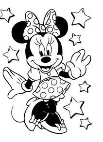 minnie mouse color pages disney coloring pages