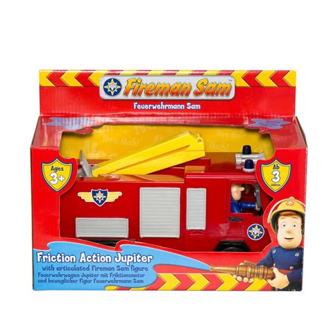 The Big One Bedding B Amp M Fireman Sam Friction Action Jupiter 271304 B Amp M