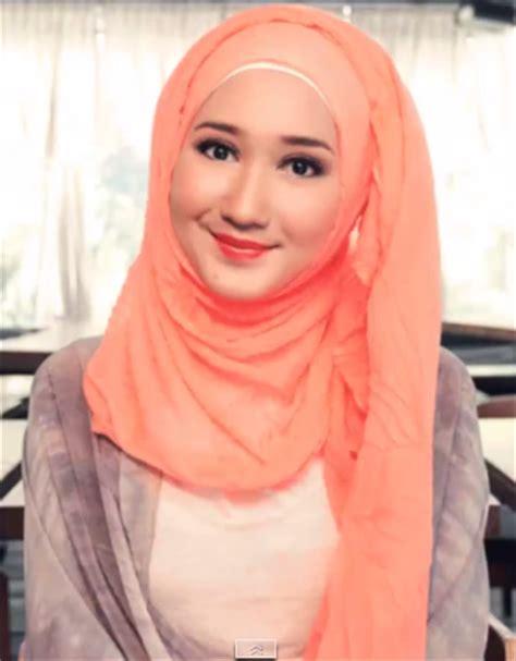 tutorial hijab paris ala dian pelangi tutorial hijab ameliawulandari1703