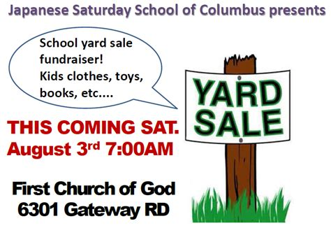 Columbus Garage Sales by Fundraisers Archives Page 35 Of 103 Muscogee