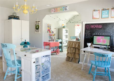 craftaholics anonymous 174 craft room tour