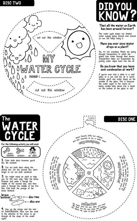Pictures Water Cycle Writing Activity - water cycle 1st grade weather unit