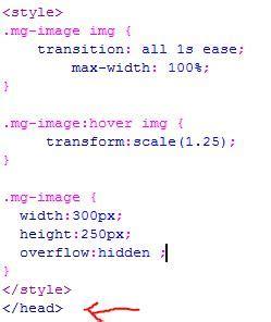 membuat zoom image dengan javascript membuat efek hover zoom pada gambar dengan css3