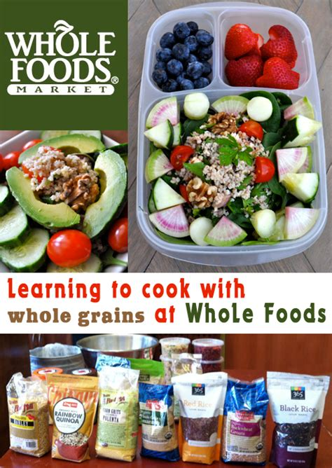 whole grains for lunch health starts here whole foods and whole grains for