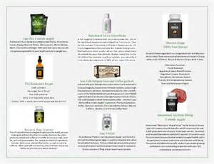 Total life changes brochure with product information and