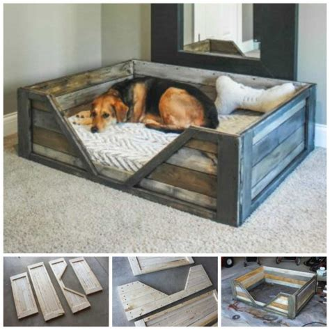 diy dog beds how to make a diy pallet dog bed for your furbaby the whoot