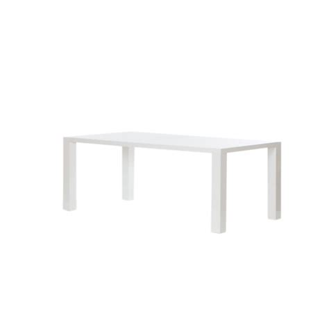 White Rectangle Dining Table Moderno White Rectangular Dining Table The Furniture Company Ltd
