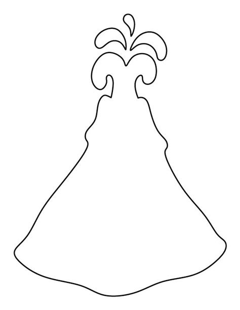 Volcano Outline Template volcano pattern use the printable outline for crafts creating stencils scrapbooking and more