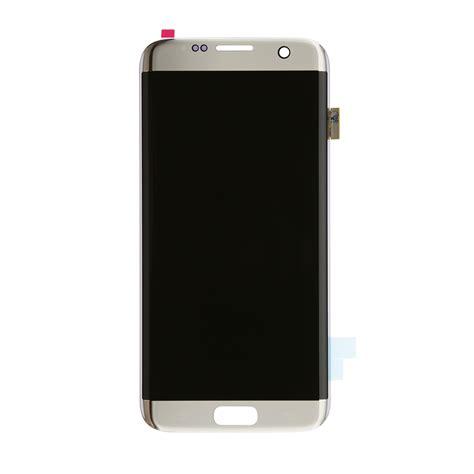 Lcd Samsung Galaxi S7 Edge samsung galaxy s7 edge silver lcd screen and digitizer fixez