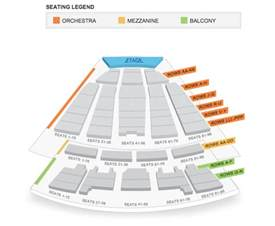 sony centre floor plan seating map