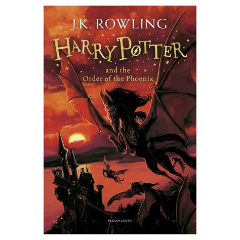 harry potter and the order of the book report harry potter and the order of the by j k rowling
