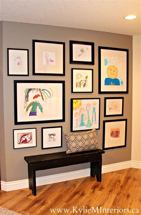 art gallery themes ideas 3 ideas for a kids art gallery wall our home